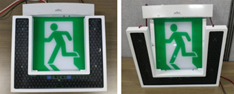 Evacuation directional speaker prototype image